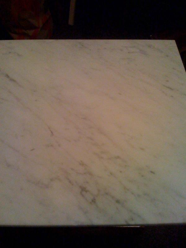 White Carrara Italian Marble